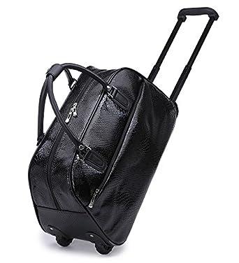 ( FASHION SALES) Ladies Snakeskin Holdall Trolley Bag Weekend Bag Hand  Luggage Animal Handbag H28 4c15e145ba