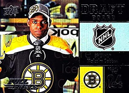 Amazon Com Ci Malcolm Subban Hockey Card 2015 16 Upper Deck Full