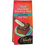 Pamela's Products Gluten Free Frosting Mix, Dark Chocolate, 12-Ounce Bags (Pack of 6)