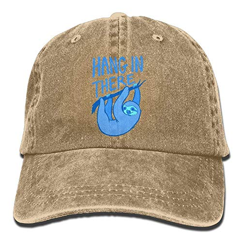 Sloth Men Hats for Hat Cowboy Skull Sport Women There Hang Cap in Denim Cowgirl 4n7pxf
