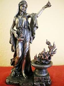 Figura Diosa griega Hestia zollstöcke personaje fogones de bronce