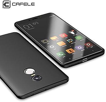 Funda Xiaomi Redmi Note 4x, CAFELE Funda Suave Silicona Mate Suave ...