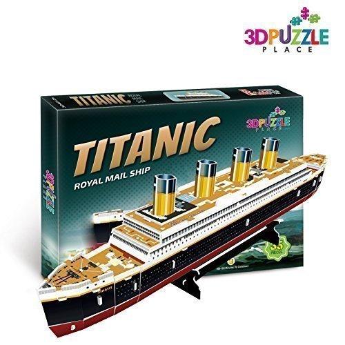 3D Puzzle Place Titanic Boat Royal Mail Ship