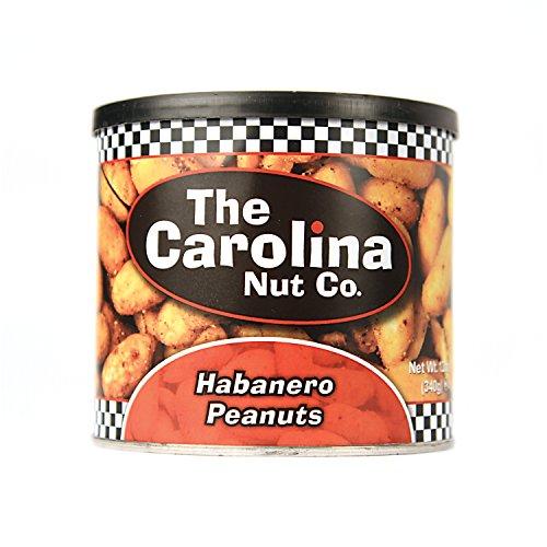 The Carolina Nut Company Peanuts, Habanero, 12 - Nuts Specialty