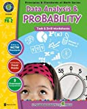 Data Analysis and Probability: Task and Drill Sheets, Grades PK-2, Tanya Cook and Chris Forest, 1553195388