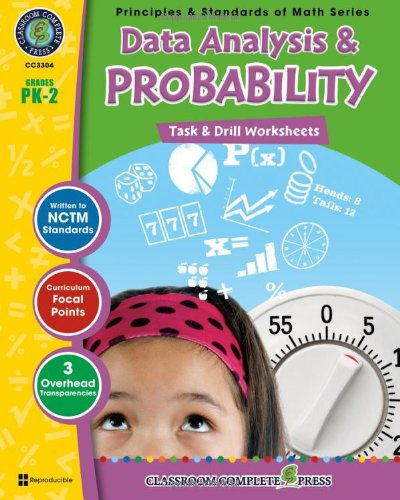 Data Analysis & Probability - Task & Drill Sheets (PK-2 ...