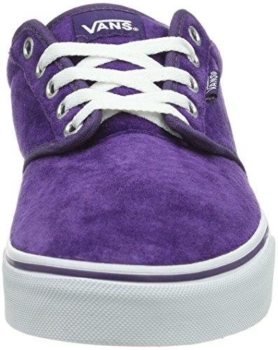 White Vans Baskets Violet Atwood Grape femme mode W FF4108qP