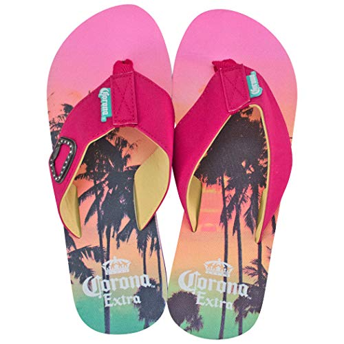 Corona Extra Pink Sunset Women's Sandals (Medium) ()