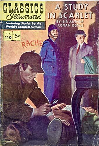 1953 - Gilberton Inc - Classics Illust10 - A Study In Scarlet Comic book - By Sir Arthur Conan Doyle - Collectible - Rare ()