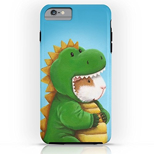 Roses Garden Phone Case Protectivedesign Cell Case Guinea Pig In A Dinosaur Costume - Peegosaurus Rex Compatible Slim Case for iPhone 6s Plus]()