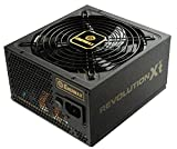 Enermax REVOLUTION X't II 750W Power Supply 80 Plus Gold Certified Semi-Modular Twister Bearing Fan and Built-in HeatGuard, ERX750AWT