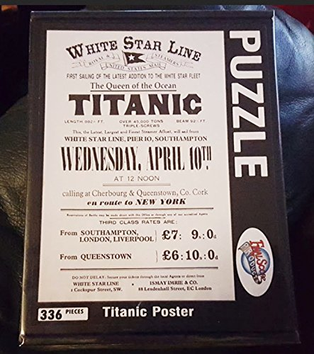 Titanic 1912 Travel Ad Poster Jigsaw Puzzle Limited Edition Special