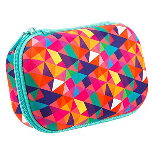 - ZIPIT Colorz Pencil Case/Pencil Box/Storage Box/Cosmetic Makeup Bag, Colorful