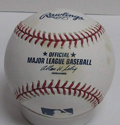 Braves Johnny Logan D Autographed Official MLB Basebal Signed 'Milw Braves '57 Certified Authentic