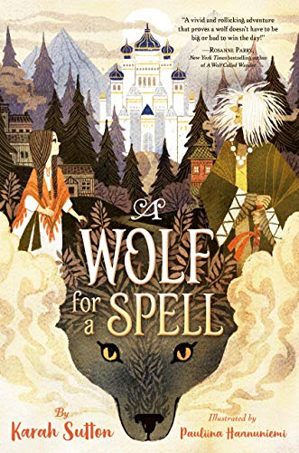 Book Cover: A Wolf for a Spell