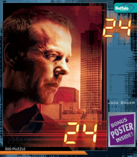 - 24 TV Series Jack Bauer Puzzle 300 Pc
