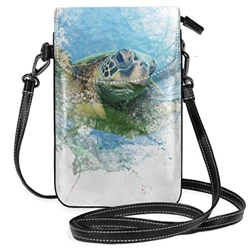 Small Cell Phone Purse Cyprus Turtle Save Small Crossbody Bag Mini Cell Phone Pouch Shoulder Bag -