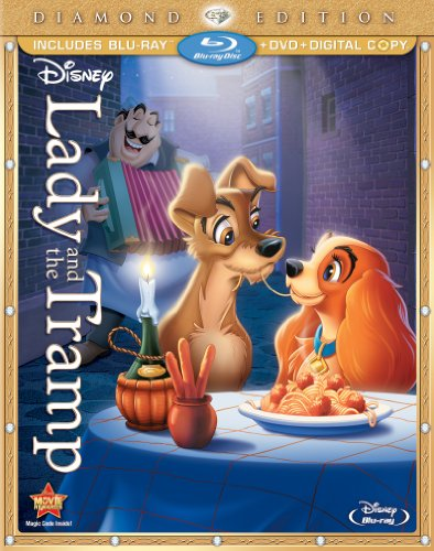 Anniversary 50th Edition Earth - Lady and the Tramp, Diamond Edition [Blu-ray]