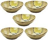 MINO Ware Bowl Set of 5 sets YUZU