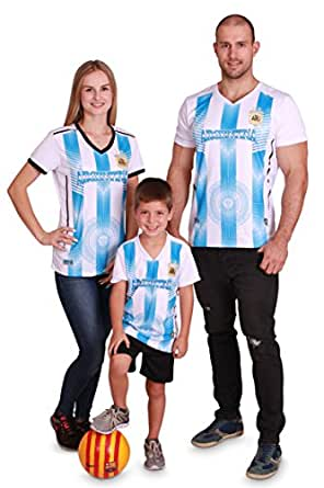 022080152 Image Unavailable. Image not available for. Color  Kid s Argentina World  Cup 2018 Soccer Jersey with Shorts ...
