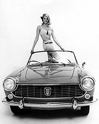 Amazon.com: 1965 Fiat 1500 Convertible Spider Photo Poster