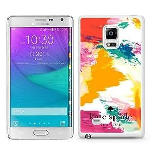 DIY Hot Sale Samsung Galaxy Note Edge Case,Kate Spade 186 White New Design Samsung Galaxy Note Edge Phone Case