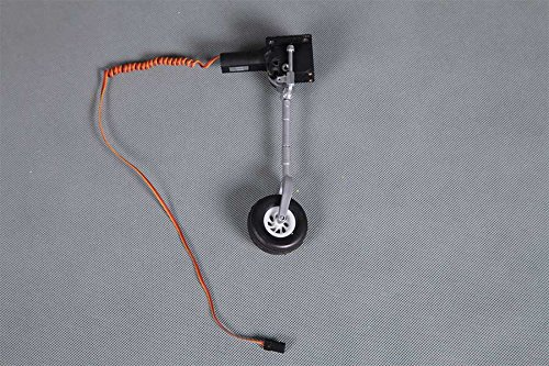 FMS RC Airplane Part - Front Landing Gear Sysetm with Retract Installed for Rochobby 980mm P39