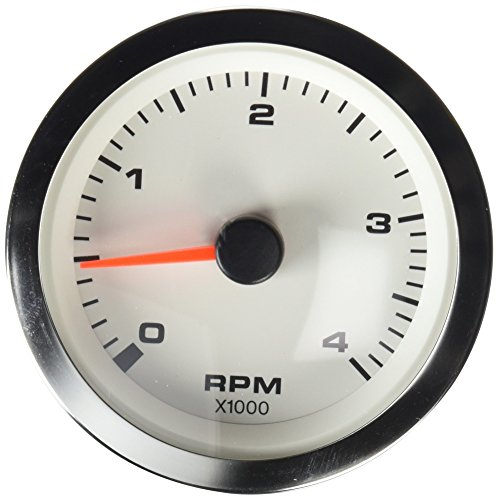 Sierra International 62548P White Premier Pro Diesel Electric Tachometer, 3