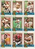 Tampa Bay Buccaneers 1990 Topps Football Team Set (Vinny Testaverde) (Keith McCants) (Danny Peebles) (Broderick) (Mark Carrier) (Paul Gruber)