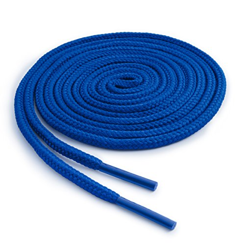 OrthoStep Round Athletic Royal Blue 54 inch Shoelaces 2 Pair Pack
