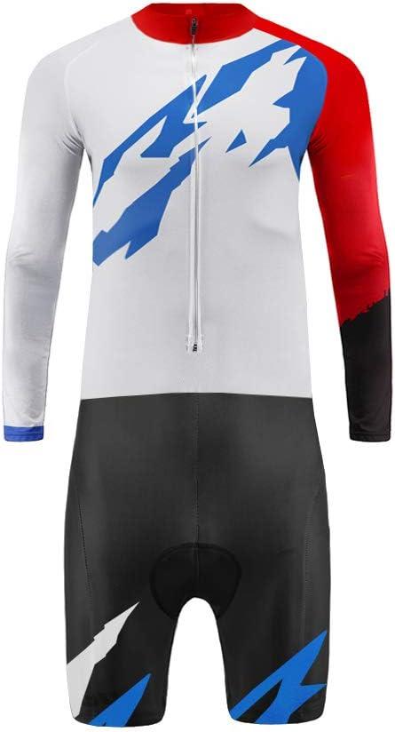 Uglyfrog Skinsuit Ciclismo 2019 Nuovi Uomini Traspirante Primavera Estate A Maniche Lunghe//Corta Ciclismo Body Allaperto Sportswear Abbigliamento Triathlon WLTFZ01