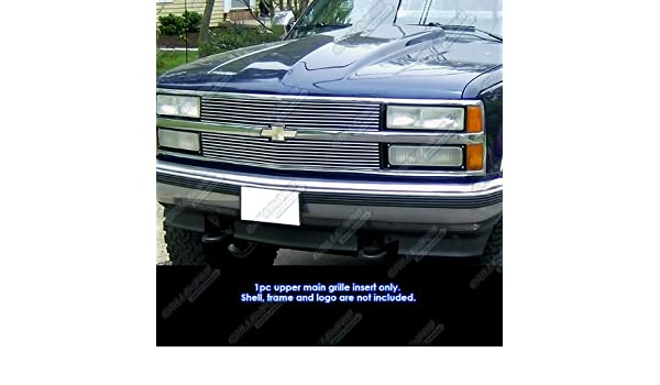 APS Fits 73-80 Chevy C//K Pickup//Suburban//Blazer Main Upper Billet Grille #C85008A