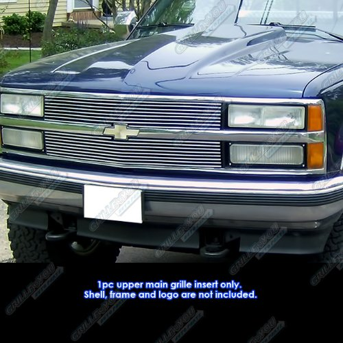 APS Compatible with 1988-1993 Chevy C/K Pickup/Suburban/Blazer Billet Grille -
