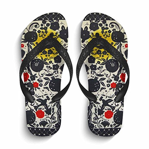 45f0273281bf0b Amazon.com  Eric Carl Women s Flip Flops Arch Support Sandals Indoor and  Outdoor Slipper  Sports   Outdoors