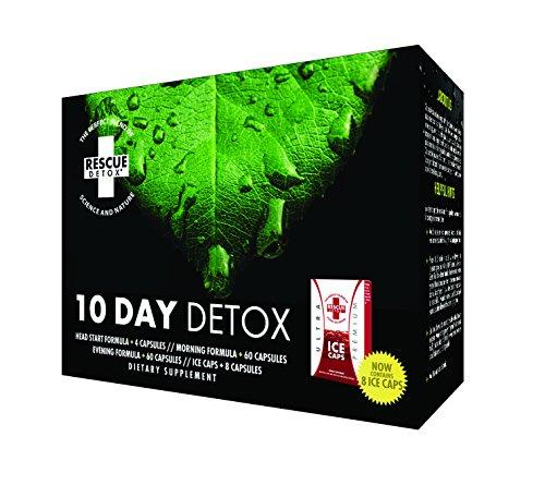 5 Day Detox Kit - Rescue Detox 10 day Permanent 10 Day Detox