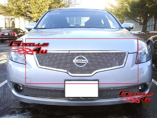 APS N76476T Chrome Grille Replacement for select Nissan Altima Models ()