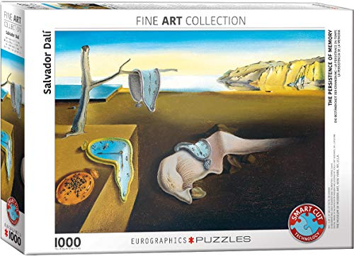 EuroGraphics (EURHR The Persistence of Memory by Salvador Dali 1000Piece Puzzle 1000Piece Jigsaw ()