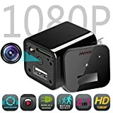 Hidden Camera Adapter, YUANHenry Spy Camera Charger with Motion Detection HD 1080P Nanny Cam USB Cube Surveillance Charger Best Home Security Camera Charger