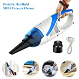 FINE DRAGON Cordless Hand VAC Portable Mini Handheld Auto Car Vacuum Cleaner - Blue