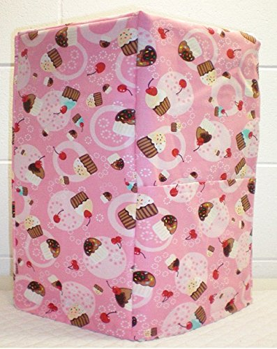 Pink Cupcake Coffee Maker Cover (All Pink Cupcake)