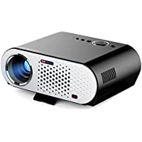 Docooler GP90 LED Projector Full Color 280 3200 ANSI Lumens 1280 800 Pixel 10000:1 Contrast Ratio with HD IN VGA AV USB Port for Notebook Laptop