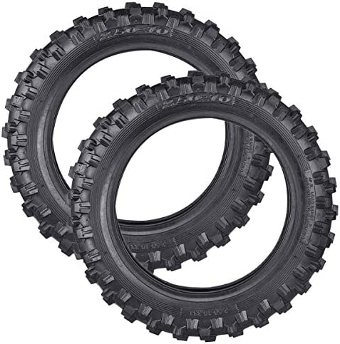 PRO CAKEN 2X Motocross Off-Road DirtBike Tire 2.50-10 Front or Rear Soft/Intermediate Terrain