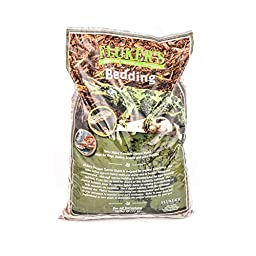 Flukers Premium Tropical Cypress Bedding for Reptile, 10 quart