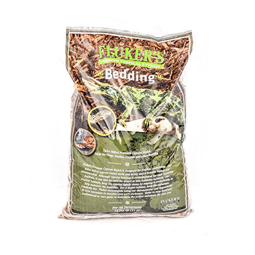 ical Cypress Bedding for Reptile, 10 quart (Cypress Reptile Bedding)