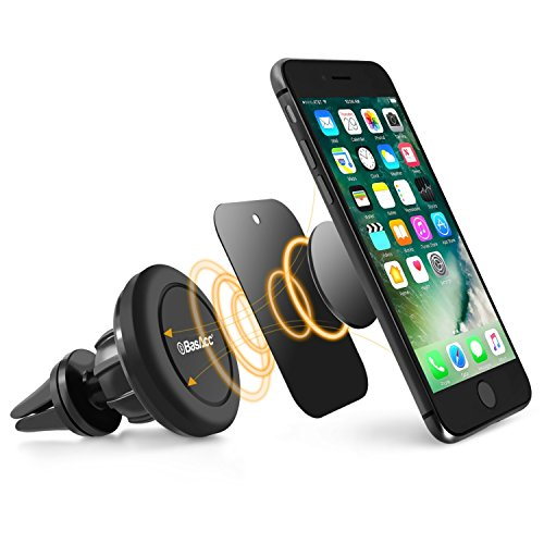 Swivel Magnetic Car Mount, BasAcc Air Vent Universal Cell Ph