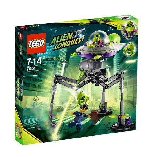 Alien Invasion Set (LEGO Alien Conquest 7051 Tripod Invader)