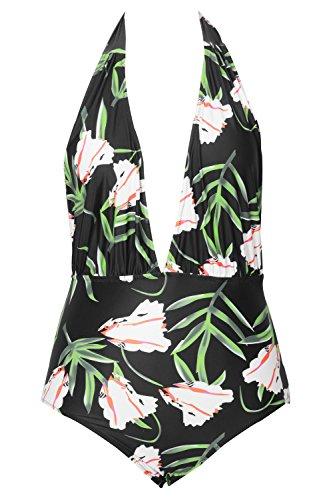 Cupshe Fashion Printing Padding Swimsuit
