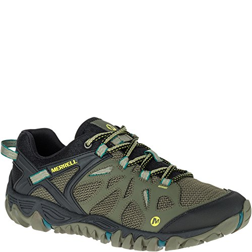 Merrell Men's All Out Blaze Aero Sport Hiking Shoe, Dusty Olive, 9 M US Aero Hiking Shoes