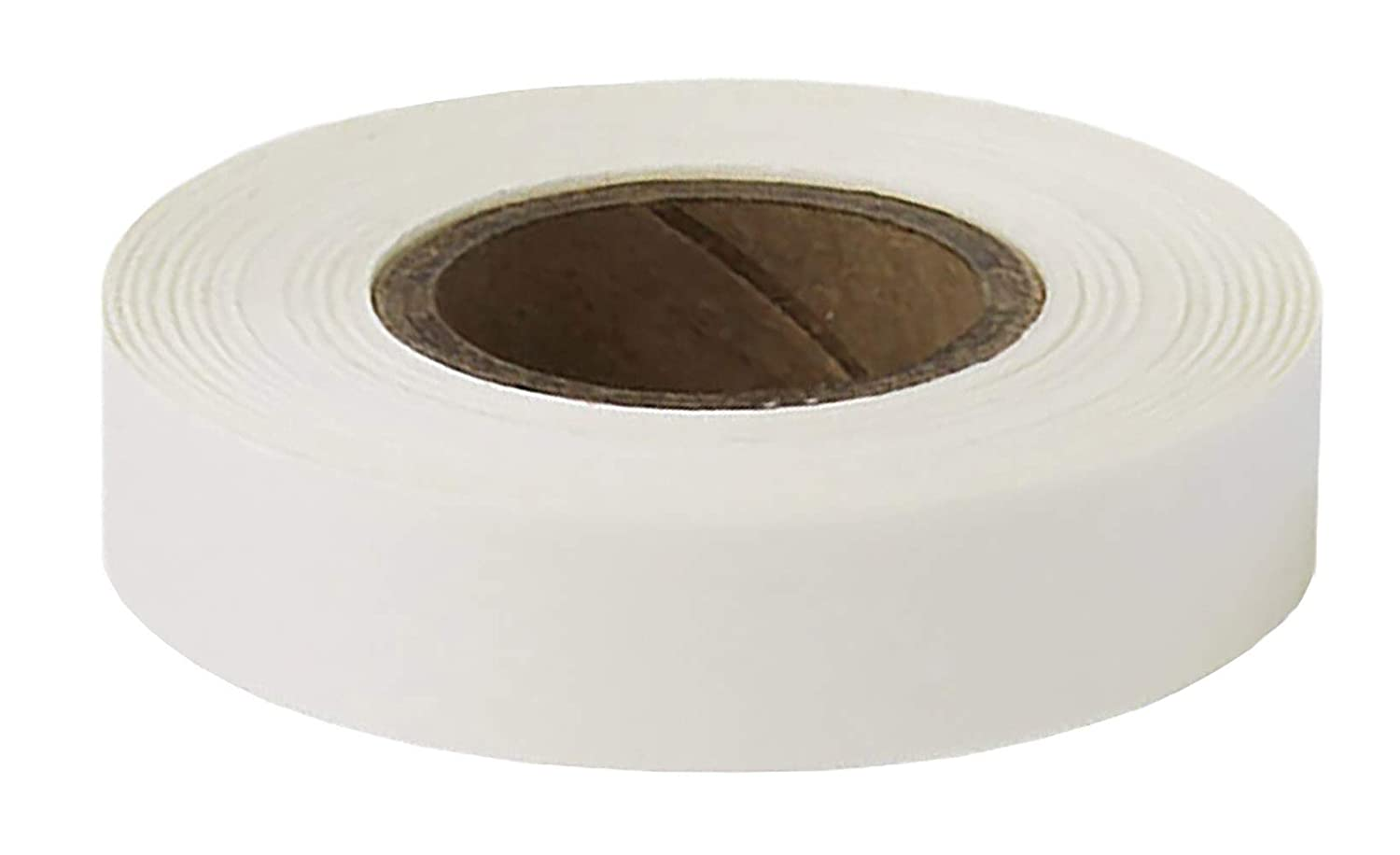 ChromaLabel 1/2 Inch Clean Remove Color-Code Tape, 500 Inch Roll, White