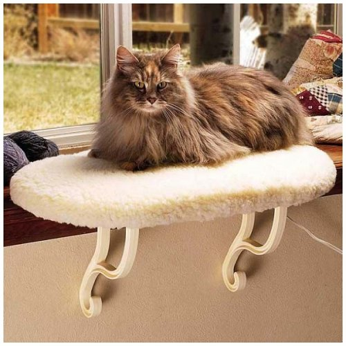 Cat Heated Perch (K&H Pet Products Kitty Sill Heated)